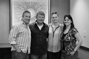 L-R: Chris Crump, Joe Gambrell, Cara Collier, Robin Wilson