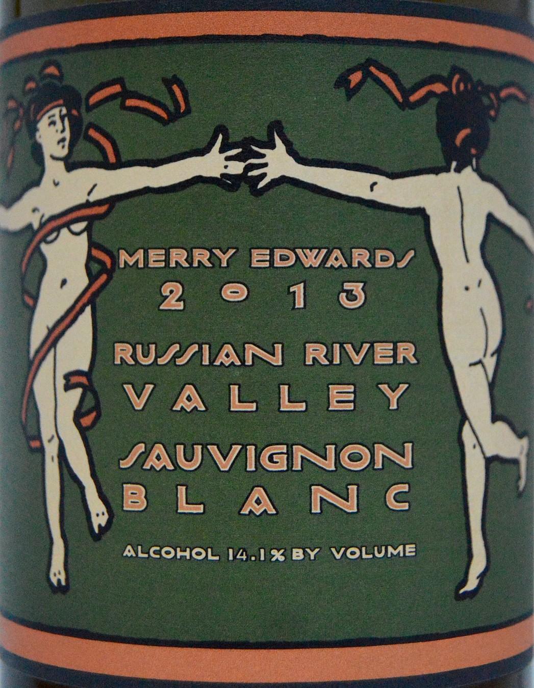 Merry Edwards Sauvignon Blanc label