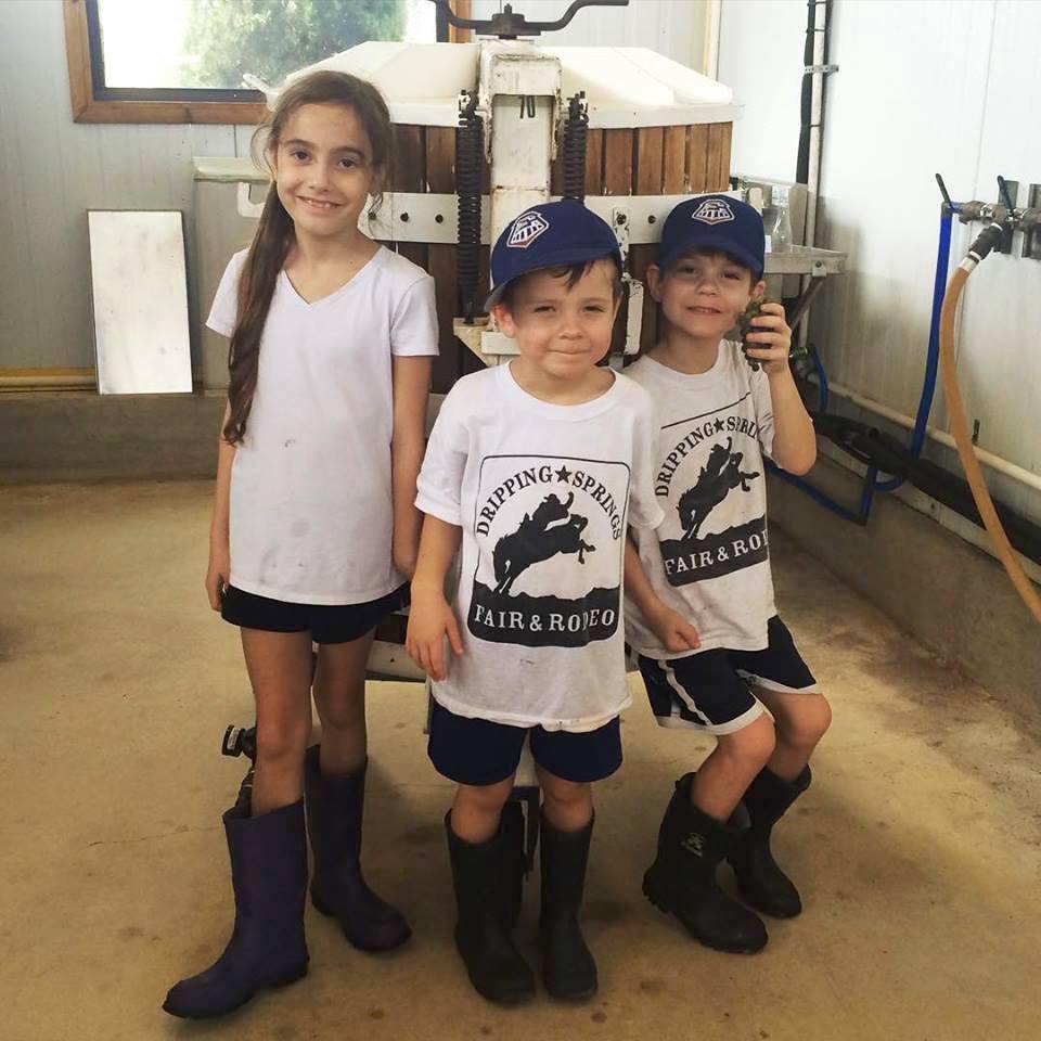 January Wiese's kids