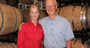 Dick and Ann Holmberg of Singing Water Vineyards Winemaker Profile