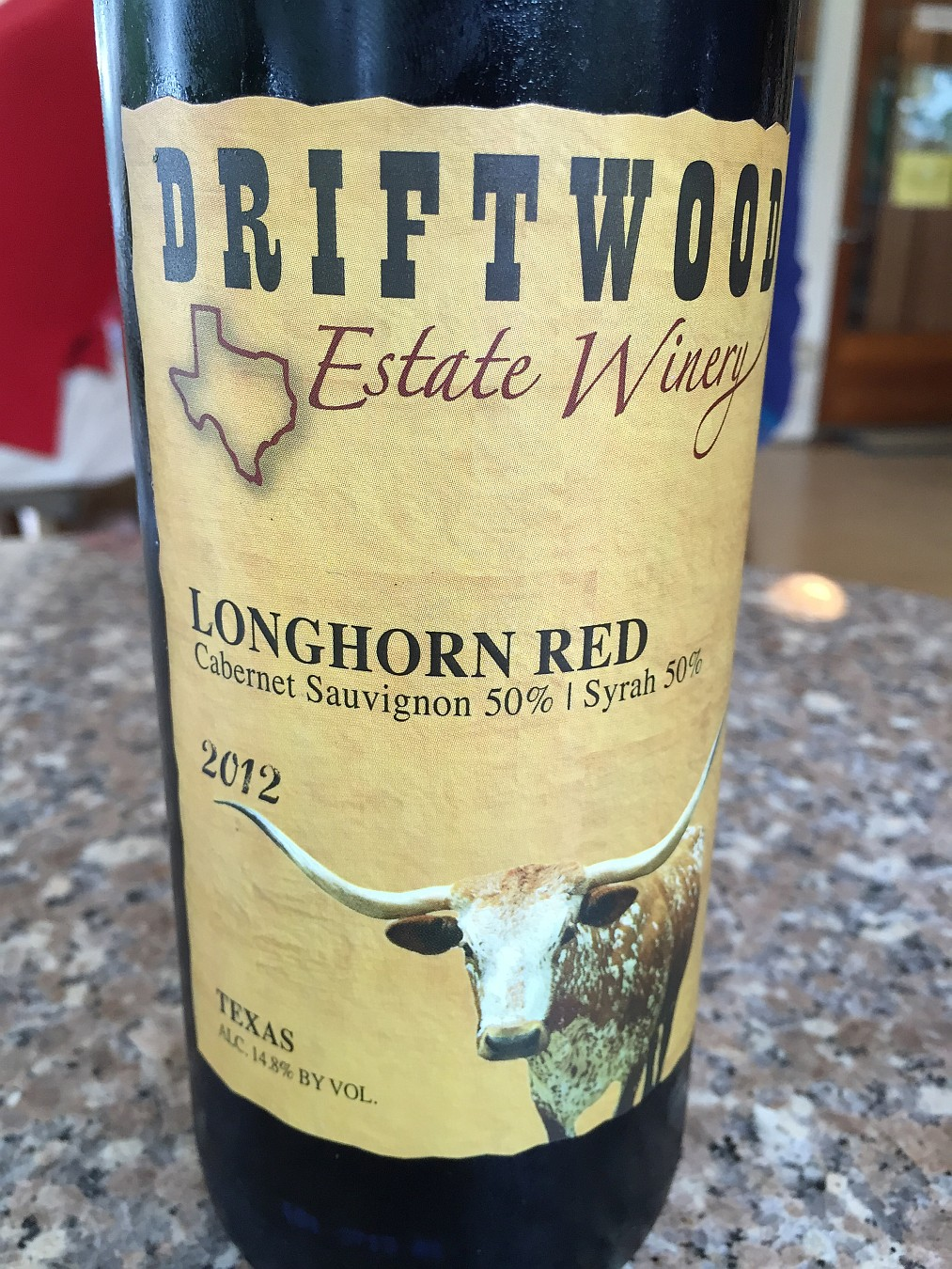 Driftwood Estate Winery Longhorn Red 2012