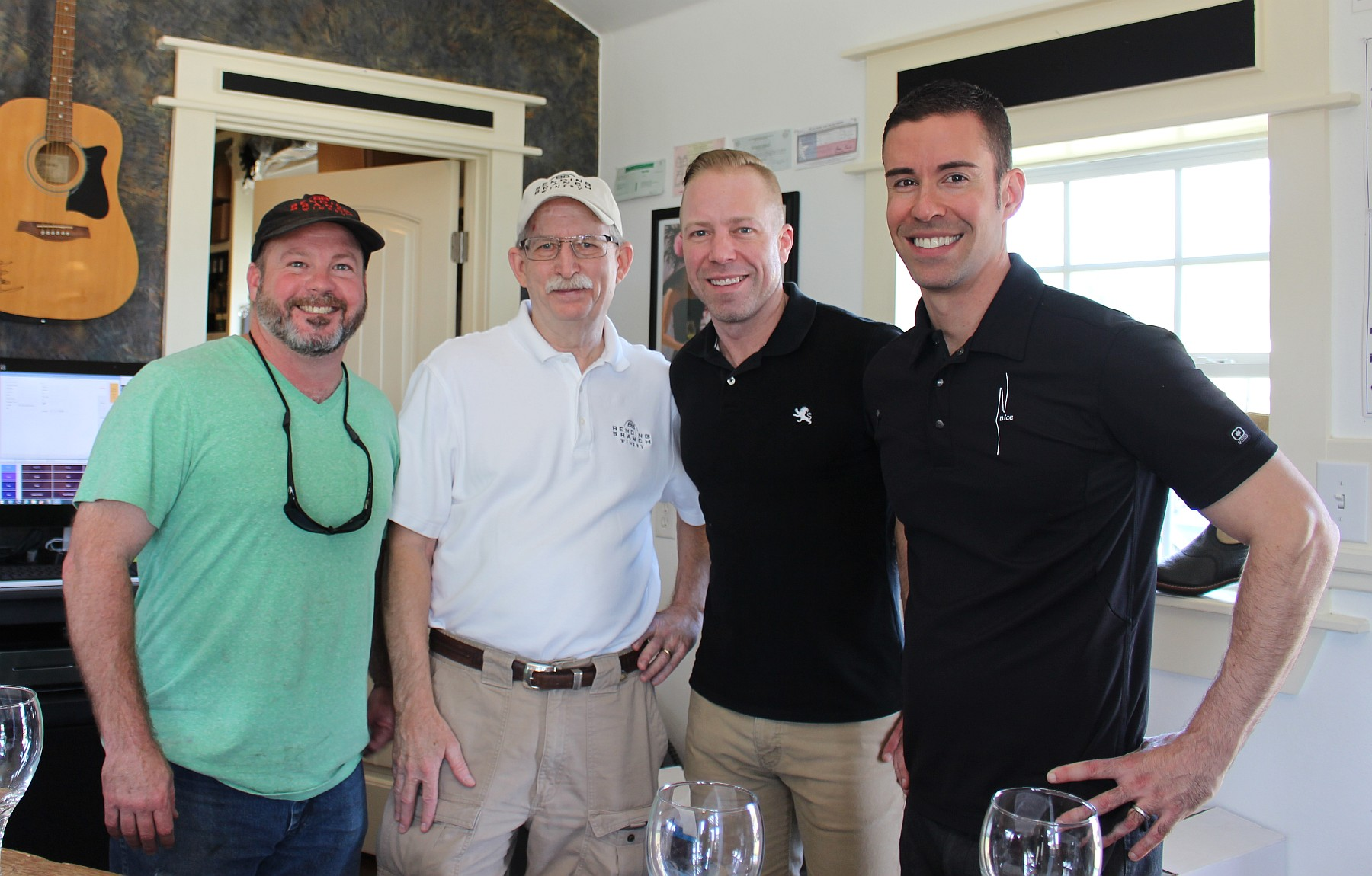 John Rivenburgh, Dr. Bob Young, Ian Eastveld, Ryan Levy