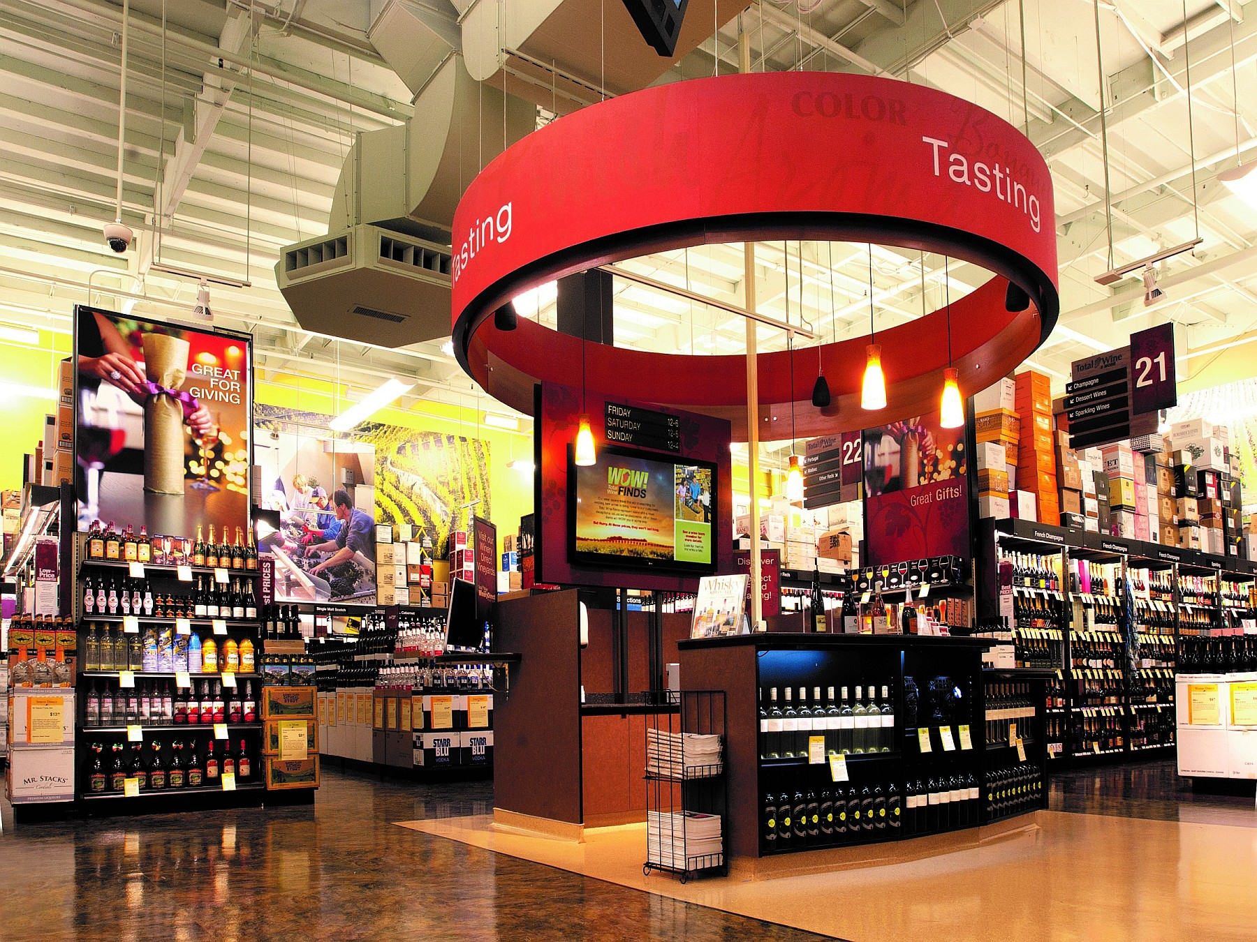 Total Wine Tasting Bar
