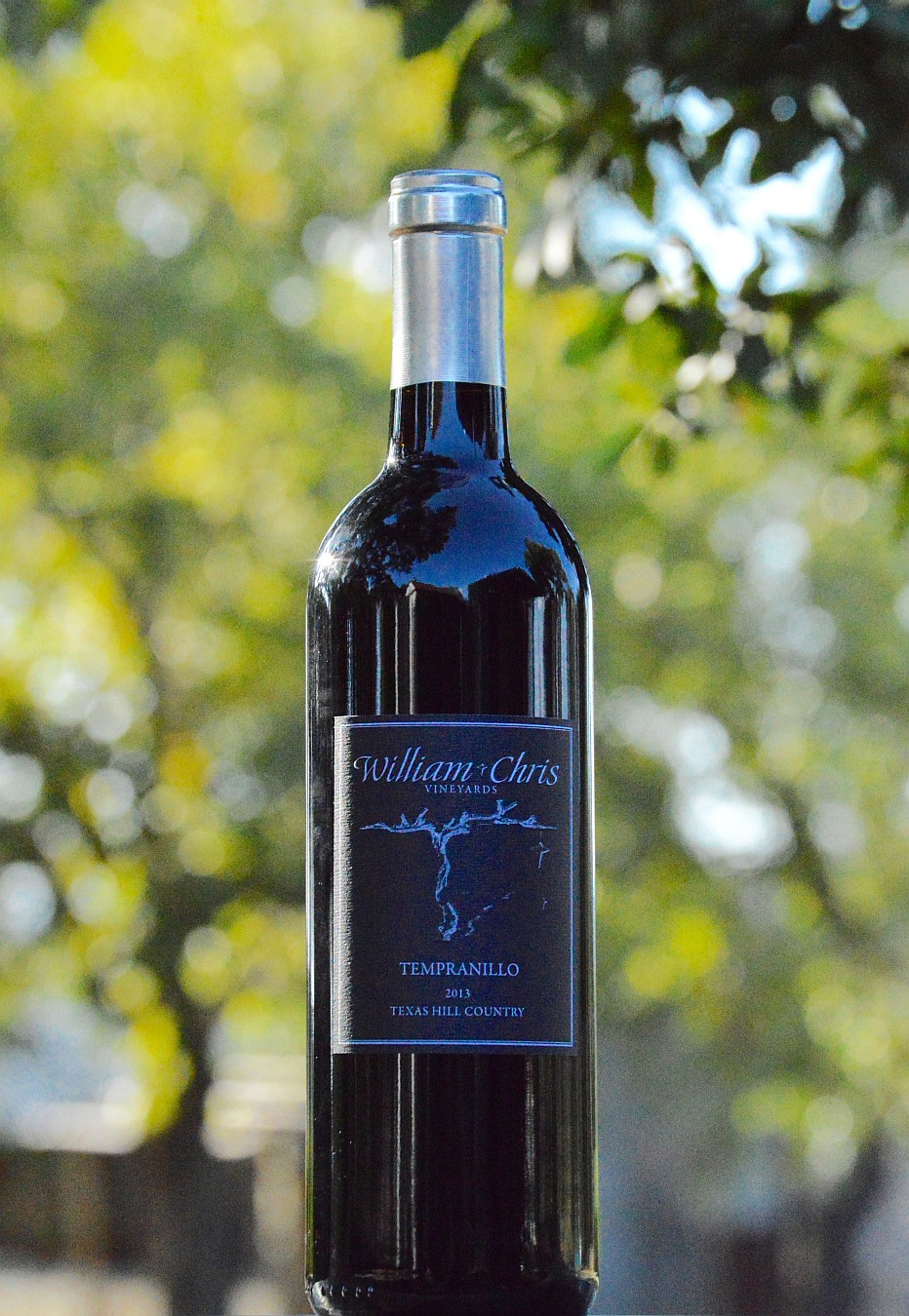 William Chris Tempranillo Bottle