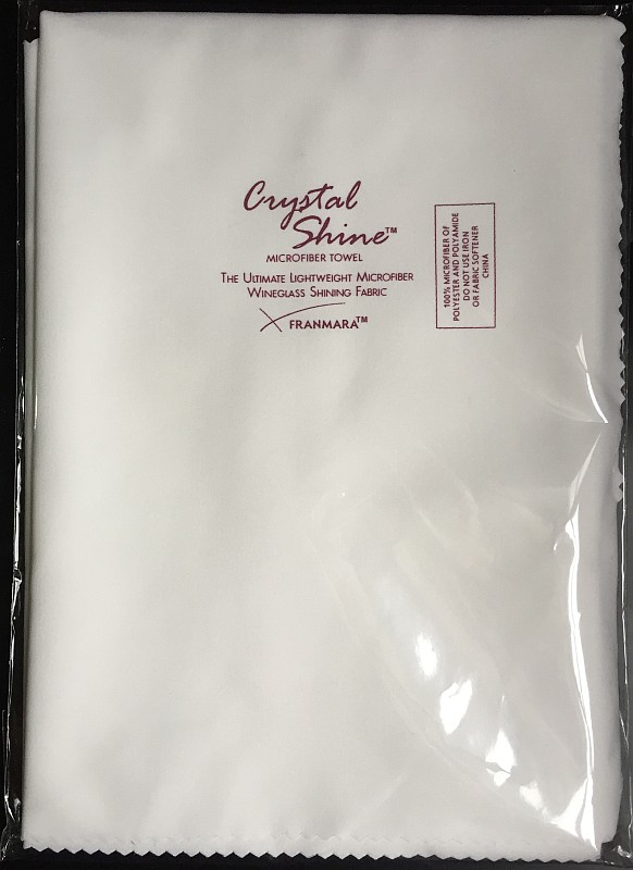 Crystal Shine microfiber cloth
