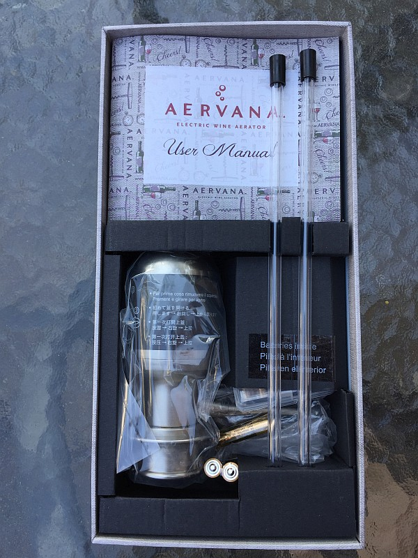 Aervana in box