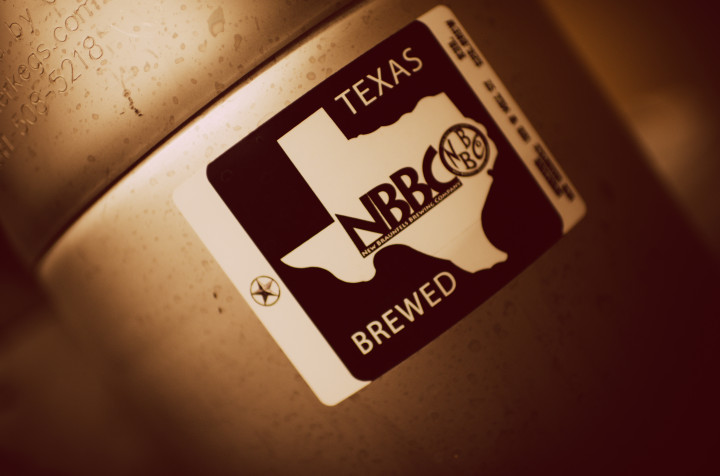 New Braunfels Brewing Company keg