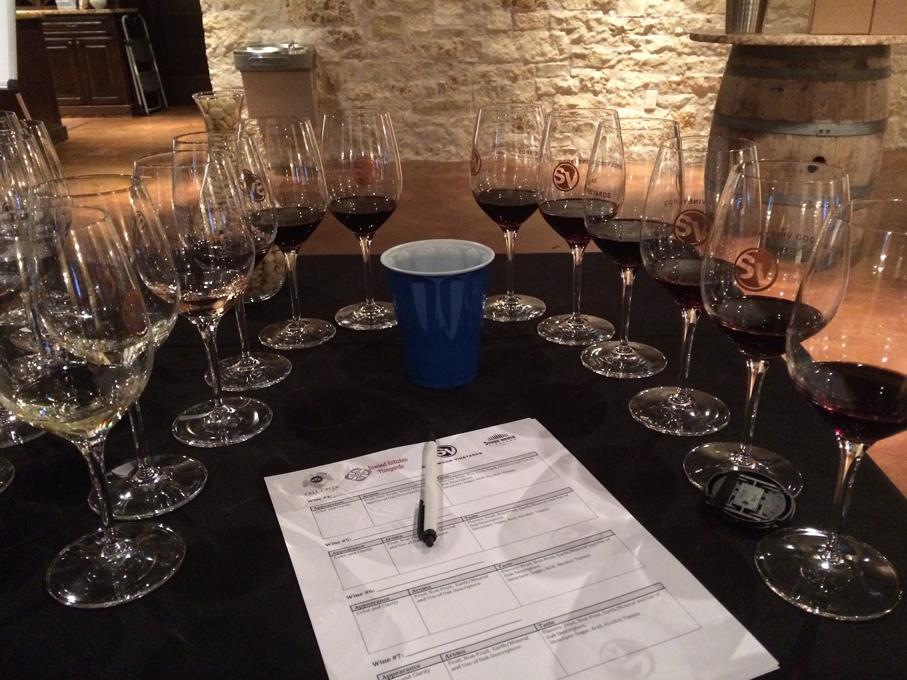 Ready for Tasting