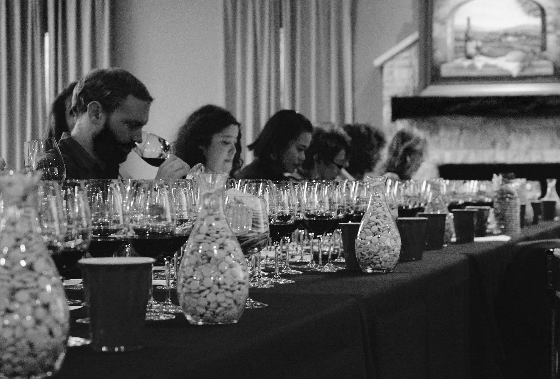 During the Tasting