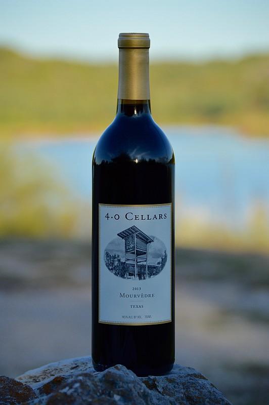 4.0 Cellars Mourvèdre bottle