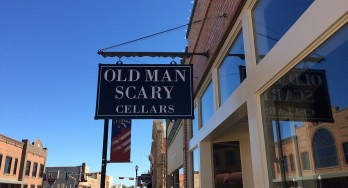 Old Man Scary Cellars - outside