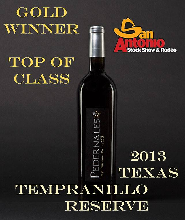 Pedernales Tempranillo at San Antonio