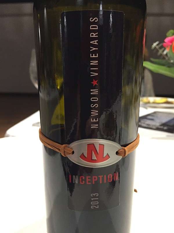 Newsom Family Vineyards 2013 Inception Red