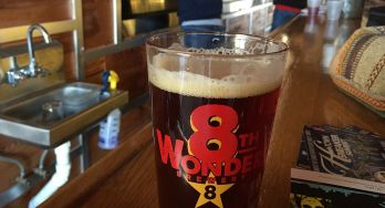8th Wonder Brewery - beer glass