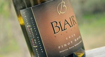 Blair Estate Pinot Noir 2012