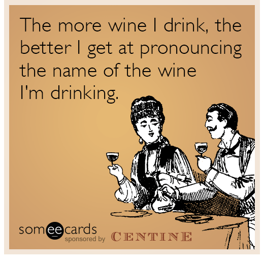 Pronounce wines meme