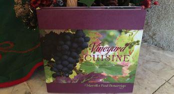Vineyard Cuisine: Free Cookbook Giveaway