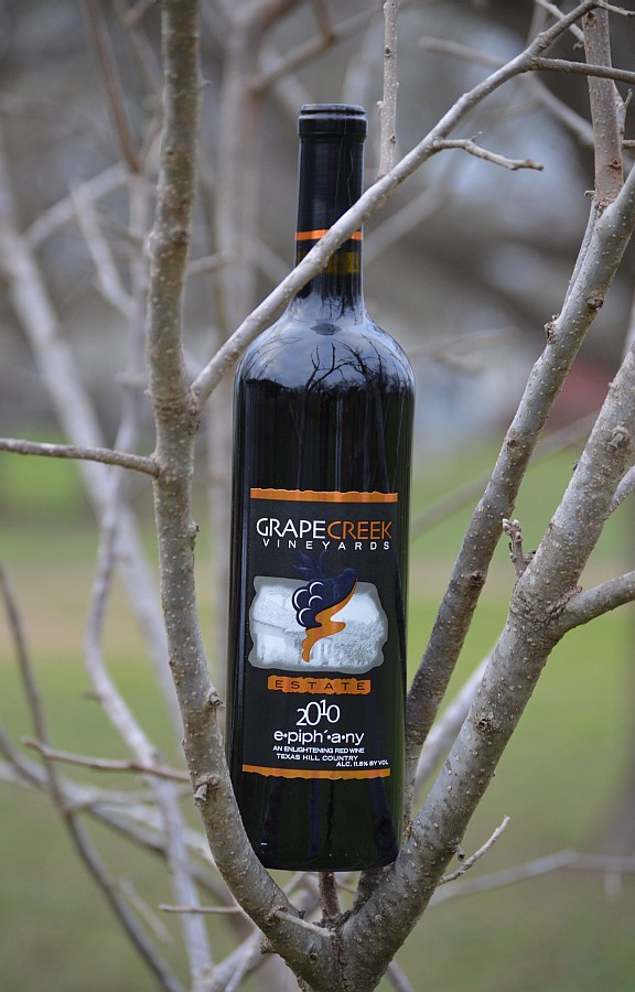 Grape Creek Vineyards Epiphany bottle