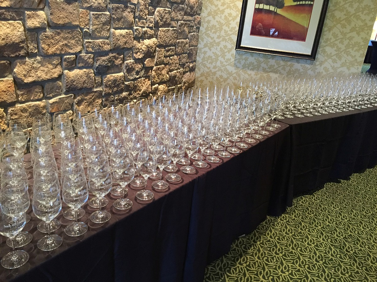 Hill Country Wine Symposium wine glasses