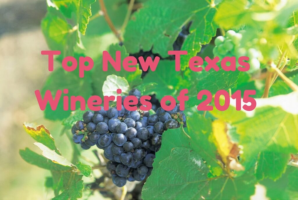 Top 2015 New Texas Wineries