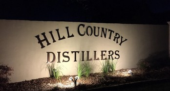 Hill Country Distillers sign