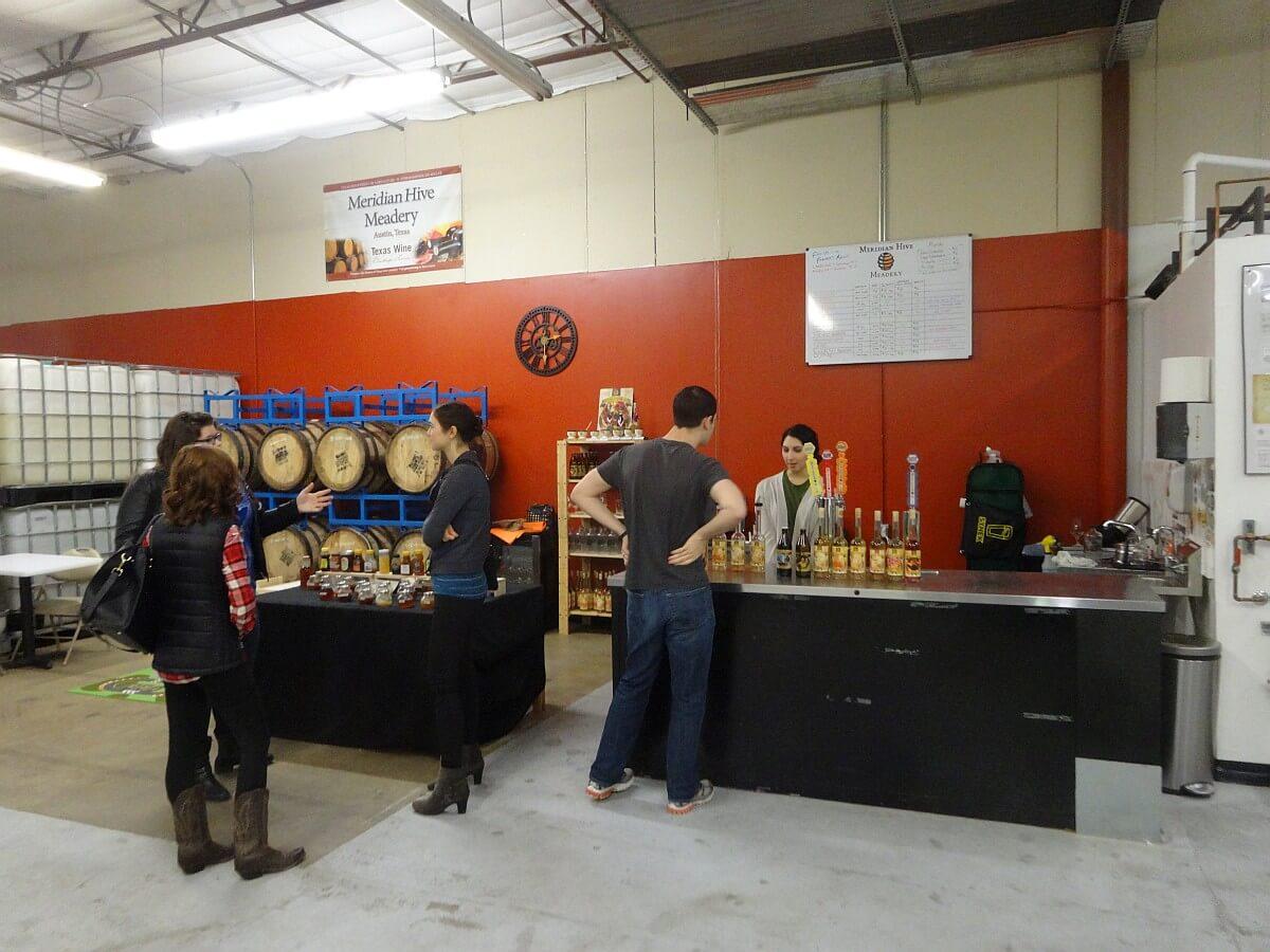 Meridian Hive tasting bar