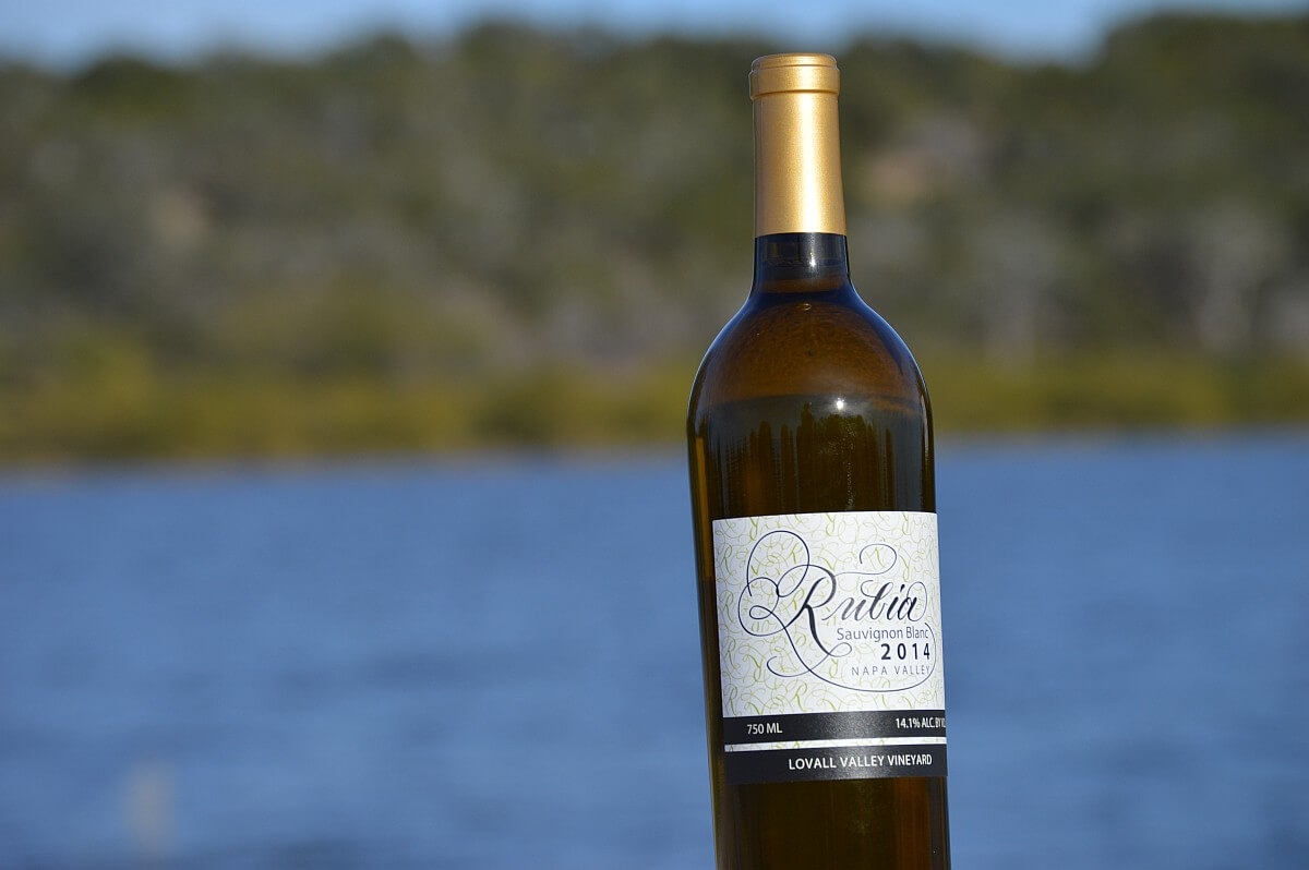 Rubia Wine Cellars Sauvignon Blanc bottle