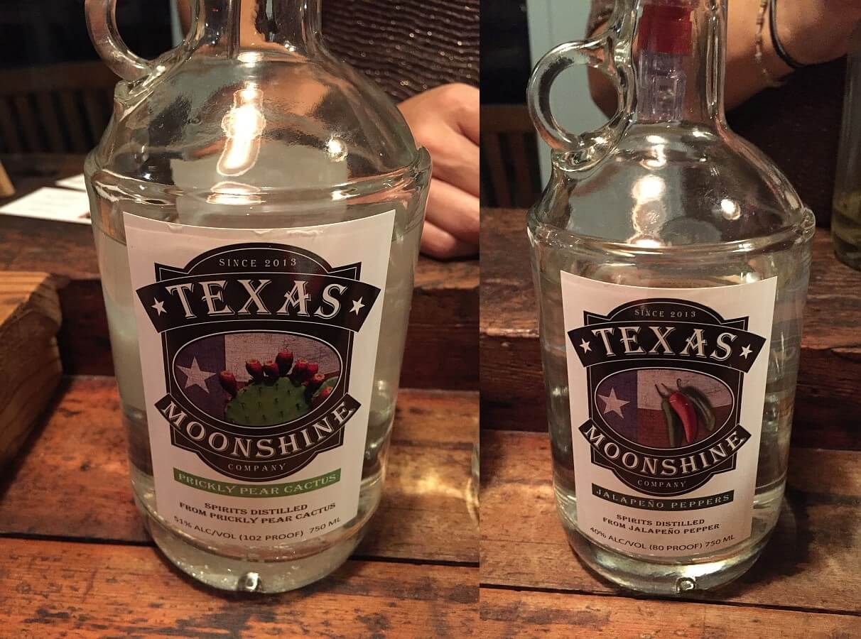 Hill Country Distillers Texas Moonshine