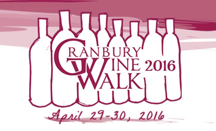 Granbury Wine Walk Logo