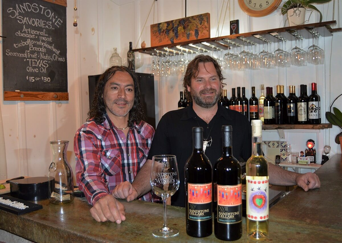 Scott Haupert and Manny Silerio at Sandstone