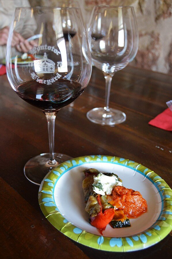 Pontotoc Winery pairing