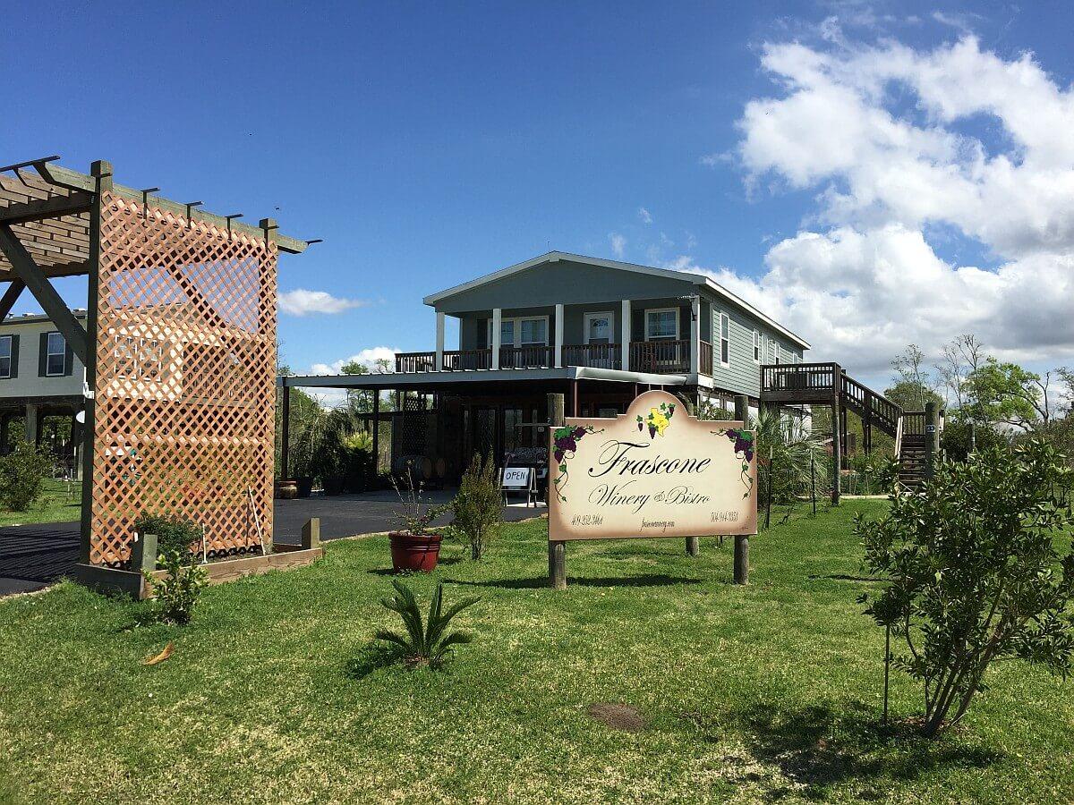 Frascone Winery outside