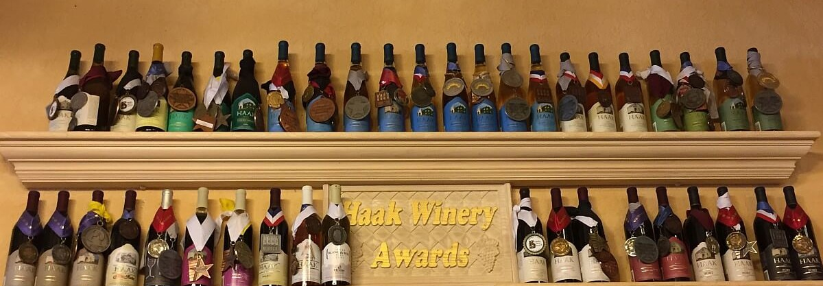Haak Vineyards & Winery awards