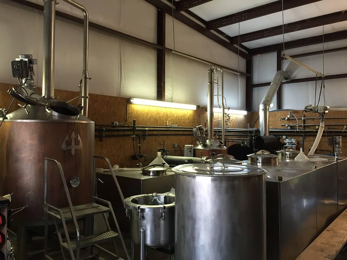 Rio Brazos Distillery stills