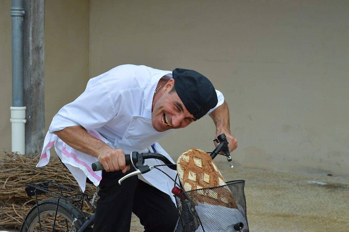 Hilarious Chef at Château Du Tertre