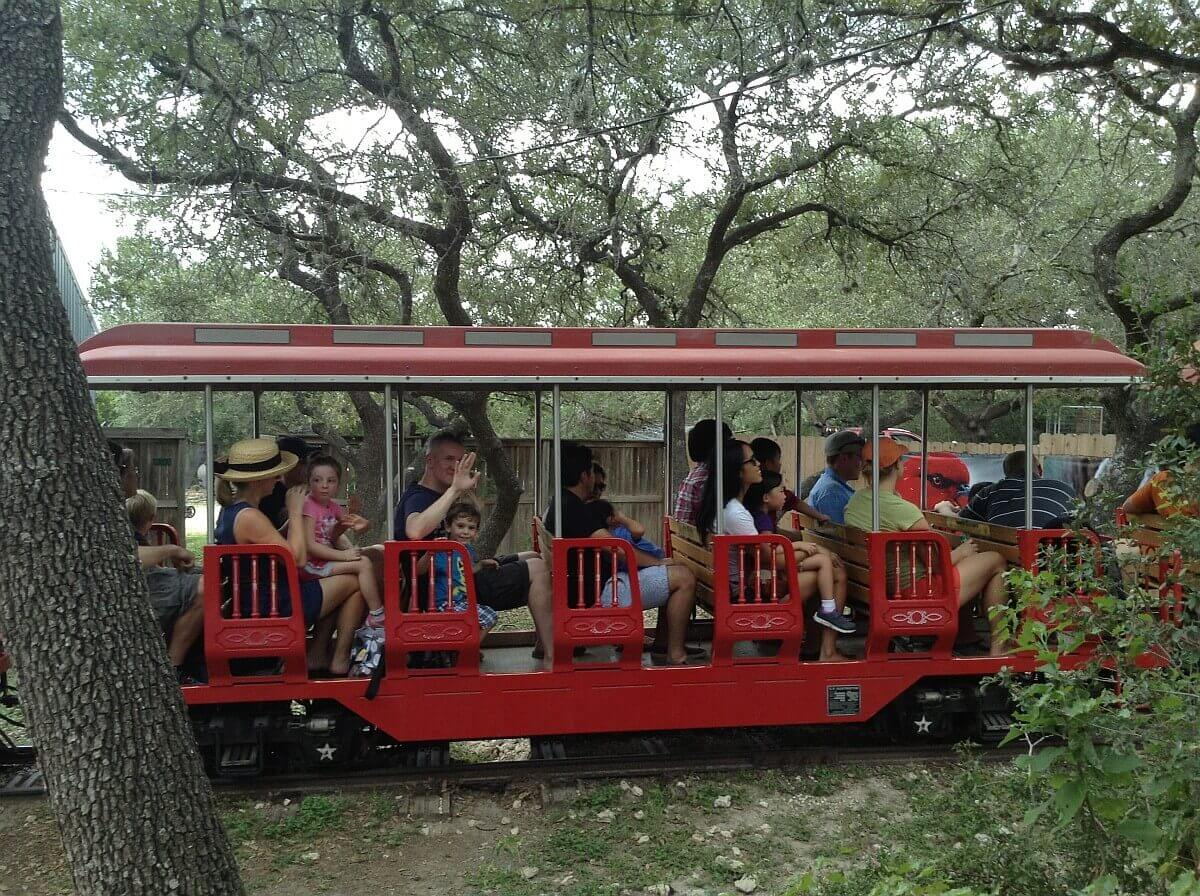 Austin Zoo Train Ride