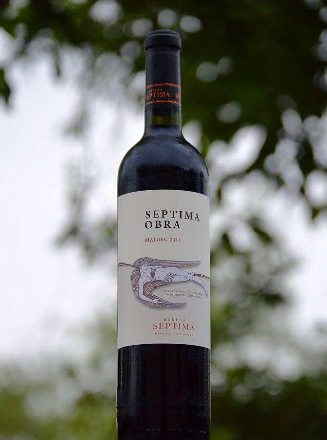 Septima Obra Malbec bottle