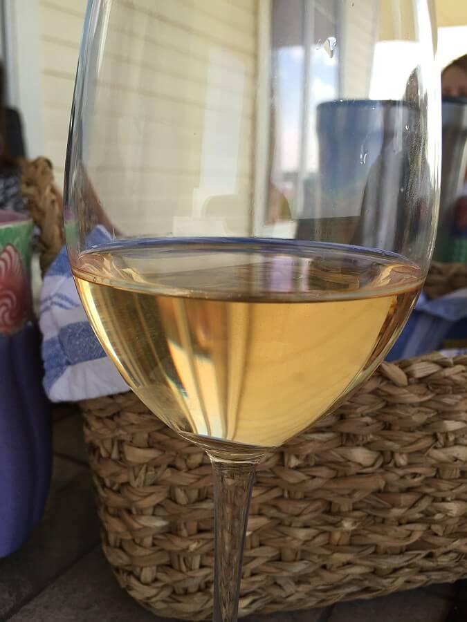 Pinot Grigio's darker color