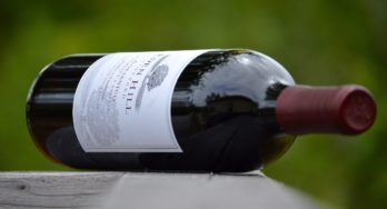 Eden Hill Aglianico side bottle
