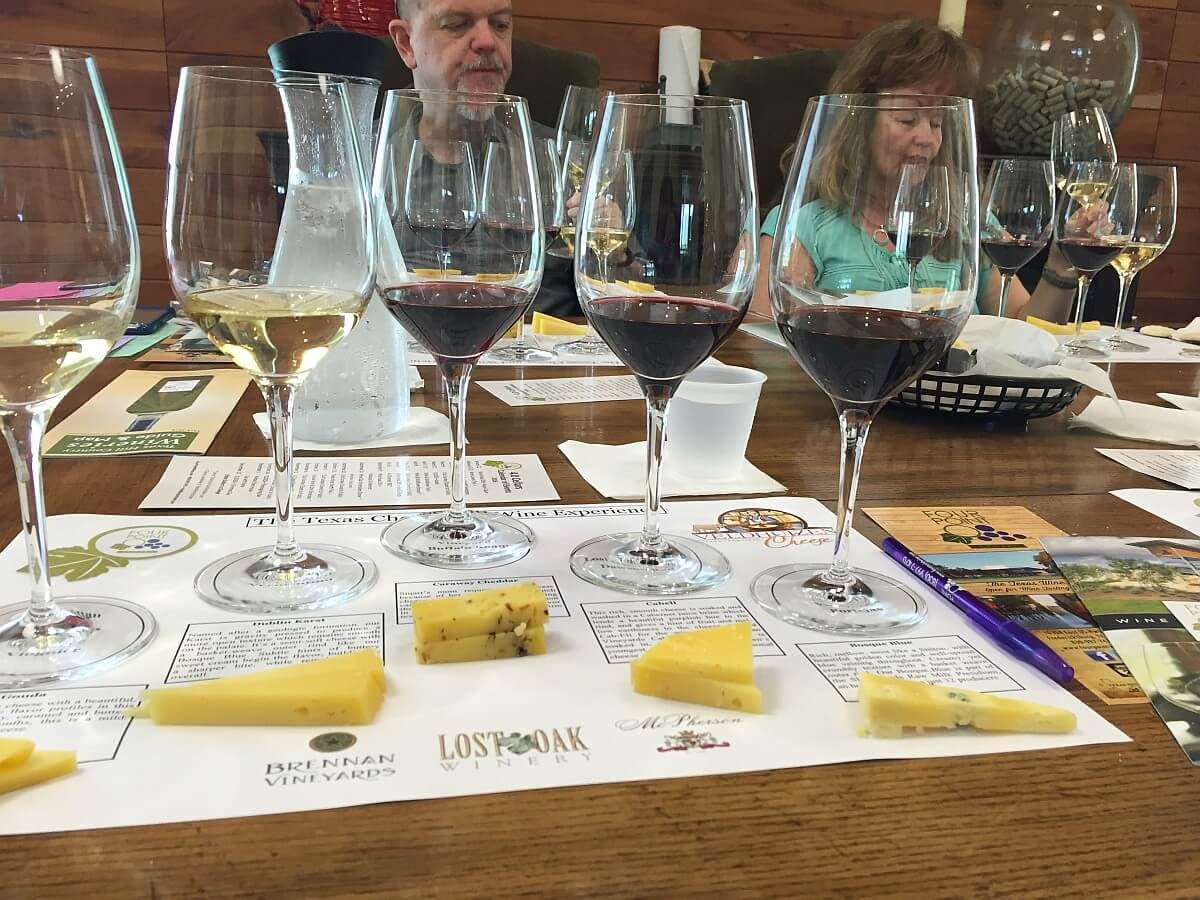 4.0 Cellars wine & cheese pairing