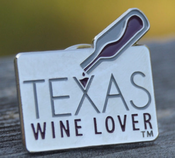 Texas Wine Lover pin