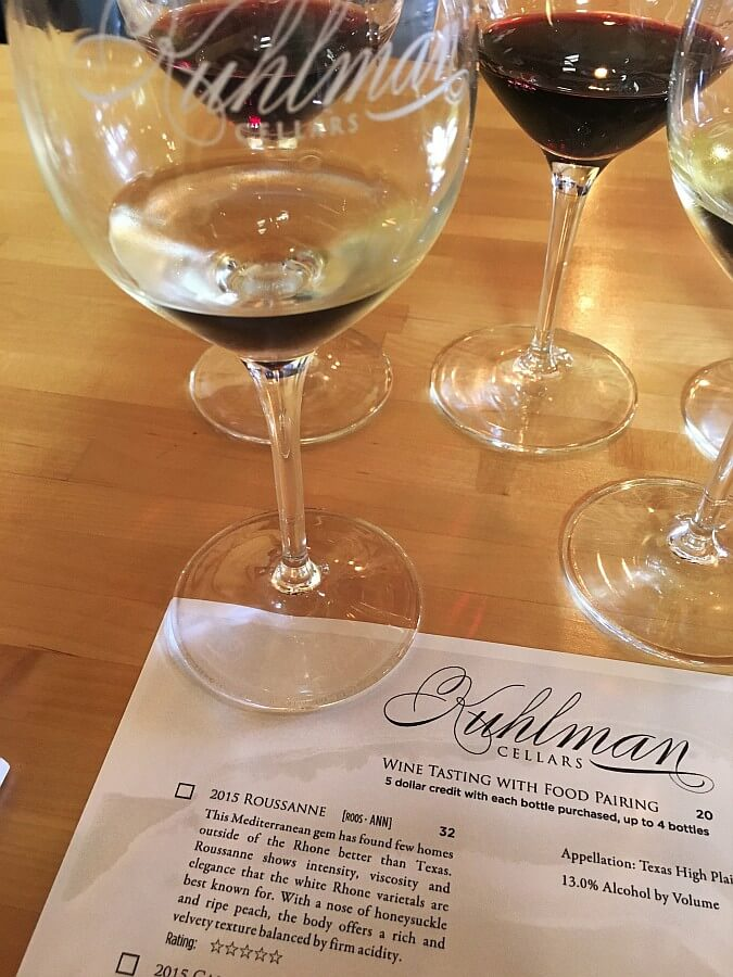 Kuhlman Cellars tasting