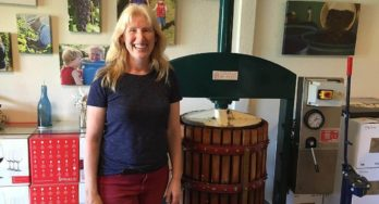 June Ritterbusch of Salado Winery Company & Salado Wine Seller  Winemaker Profile