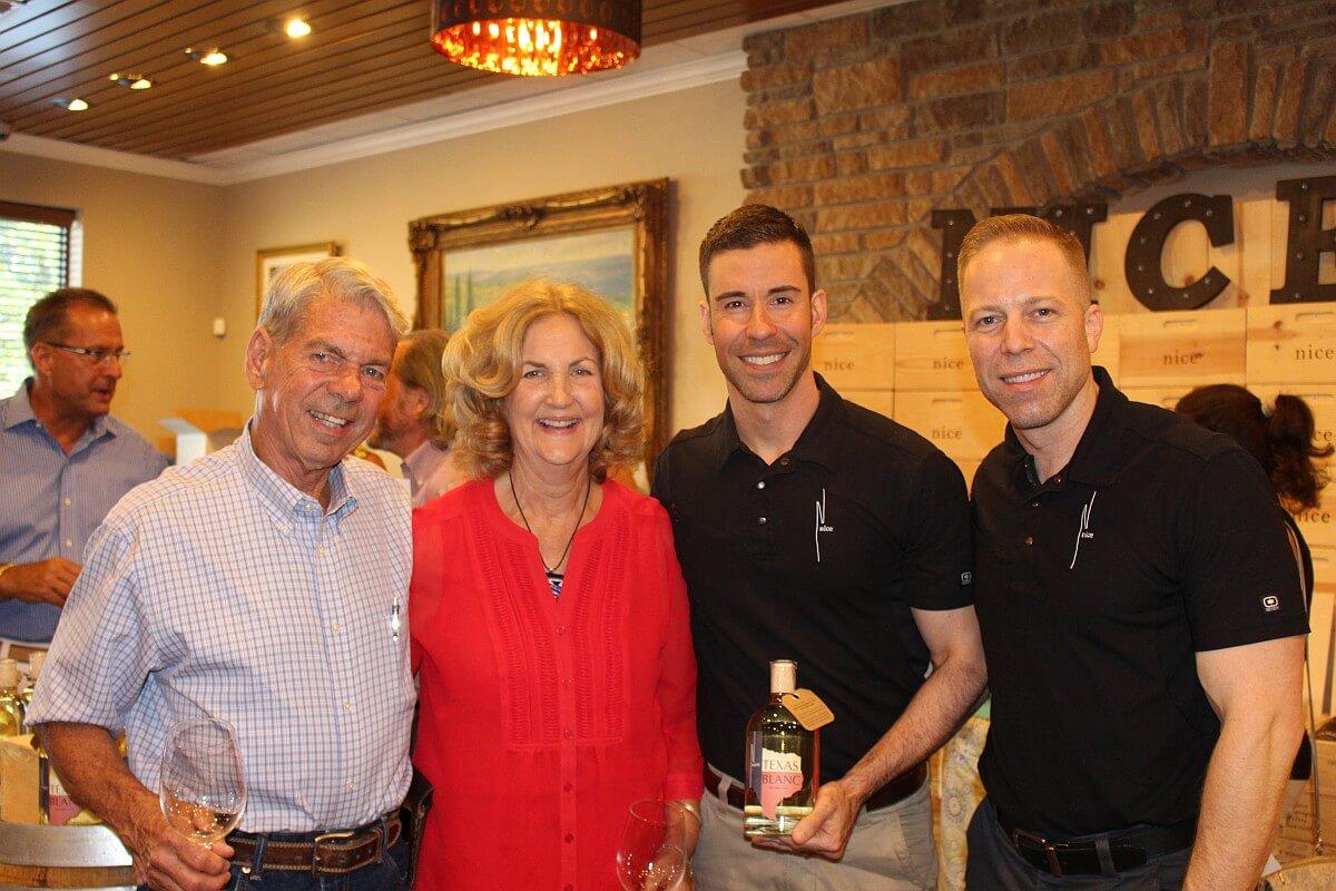 Ken & Marilyn Wuensche, Ryan Levy and Ian Eastveld