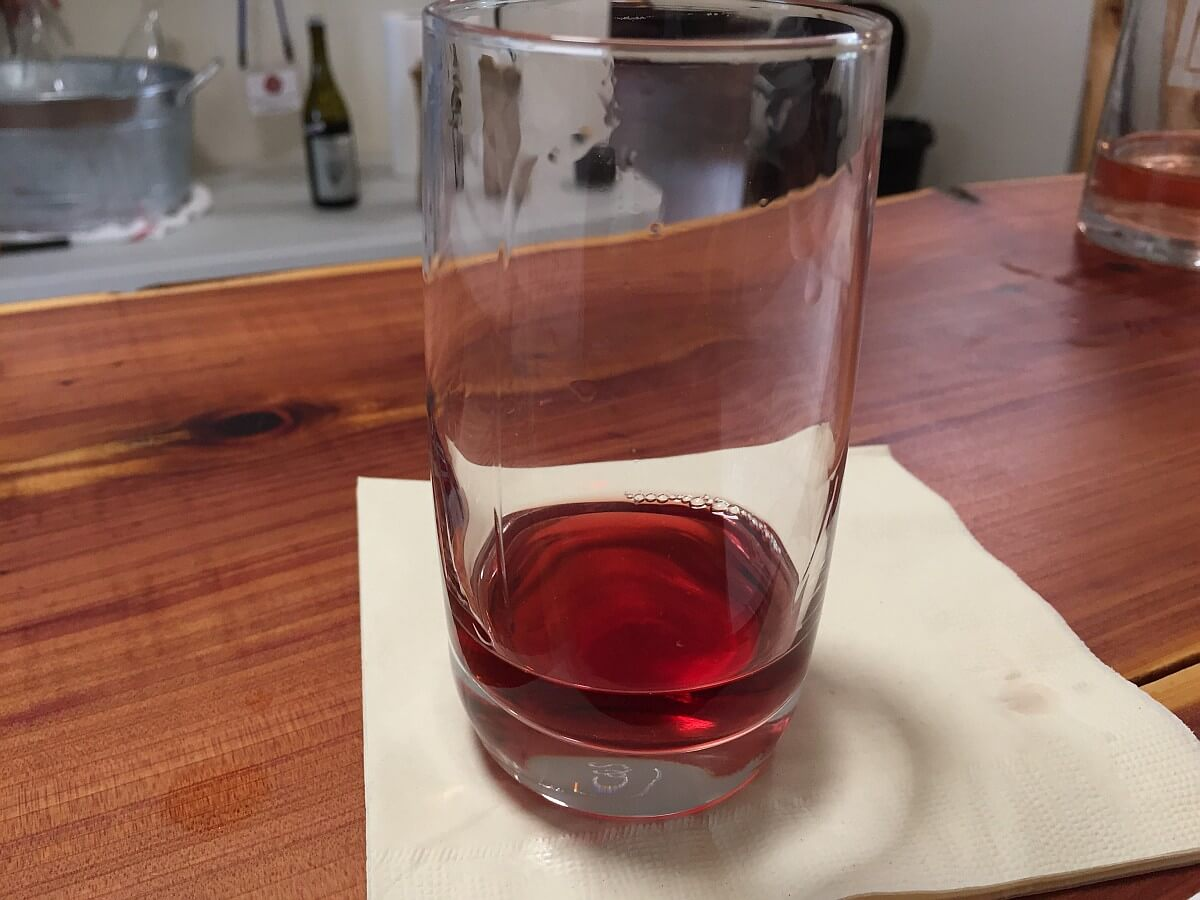 Vinovium wine glass