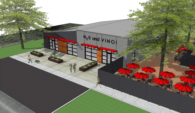 Four winery incubator drawing