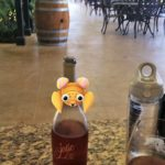 Pokemon with Jolie at Becker Vineyards