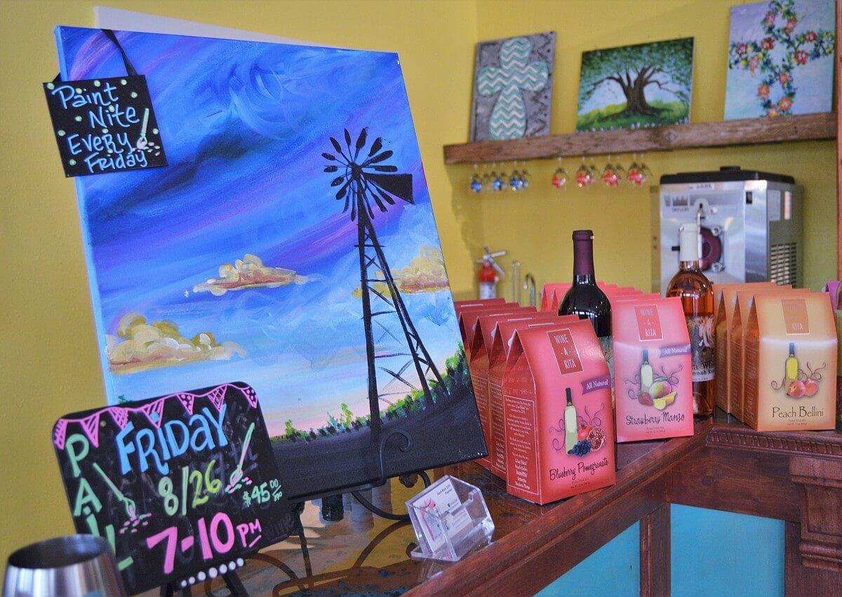 The rustic grape wine cellars san antonio texas wine lover for Wine painting san antonio