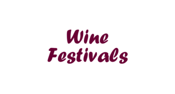 2016 Fall Wine Festivals