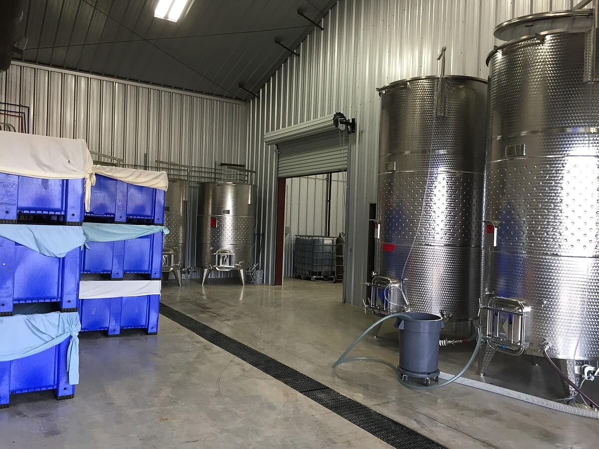 1851 Vineyards tanks